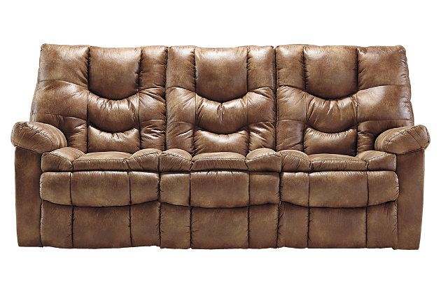 Best Almond Darshmore Power Reclining Sofa View 2 Power 400 x 300