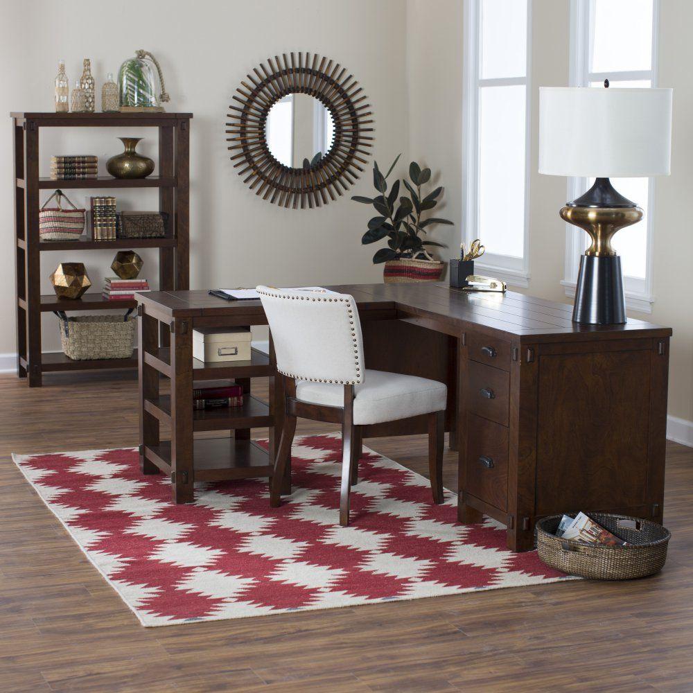 Belham living bartlett lshaped desk get stuff done in style with
