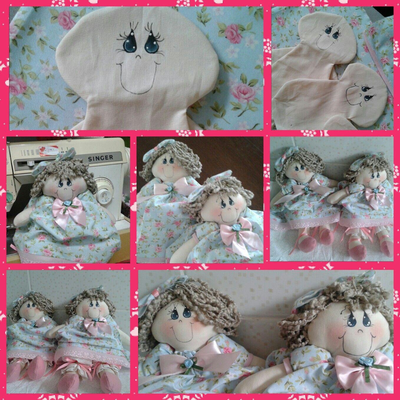 Bonecas de pano - By Janice Torres