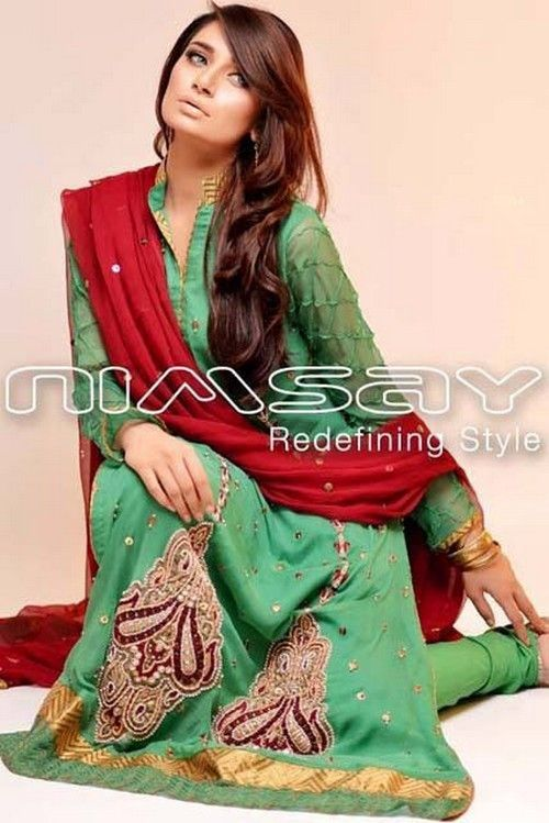 98a5cfb3d06f Women s Eid ul Adha Fall Winter Collection 2013 By Nimsay2