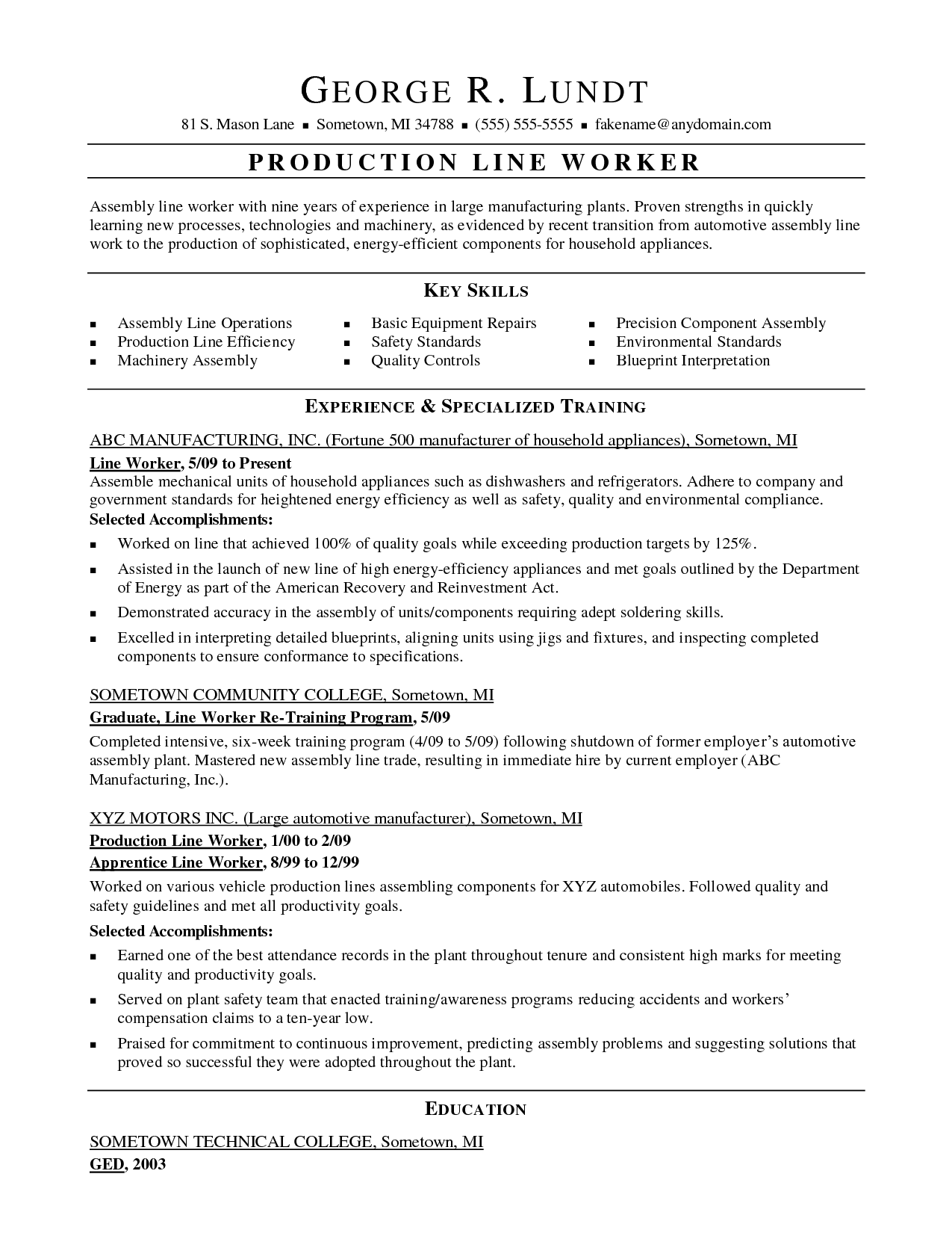Sample Resume For Factory Worker Bizdoska Com Doc Pin Biodata Marriage Youtube Background Template Line Worker Job Resume Samples Resume