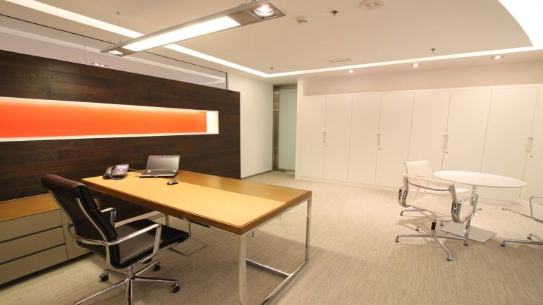 Swiss bureau interior design designed banque cantonal de geneve
