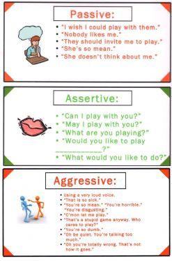 Assertive communication worksheets pdf