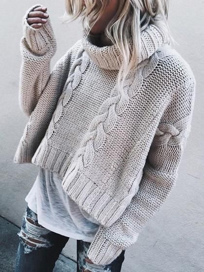 55d1d7799 Details:Knit fabric;Long sleeve;Suitable for summer wear;Chic style;Hand  wash;Regular fit;Stretchable  material;71%Acrylic+26%Polyester+3%ElastanceSize:One ...