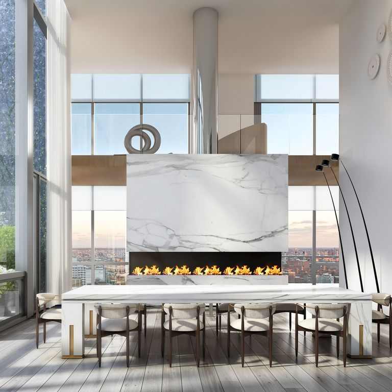 This Is What A Five-Story $98 Million Penthouse In NYC