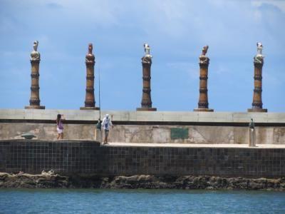 Recife parc des sculpture de francisco brennand 3