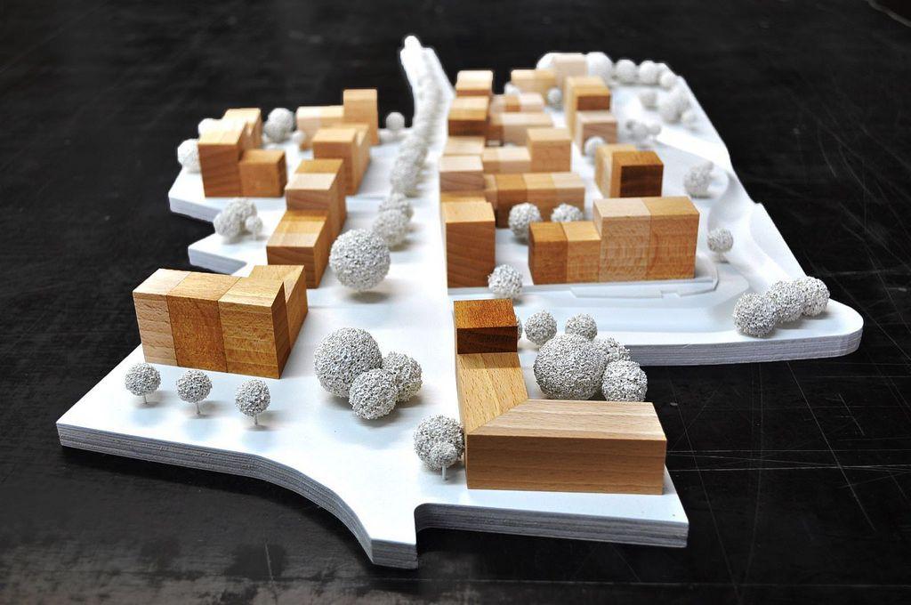 Landeswettbewerb NRW Architekturmodell, Architektur, Modell