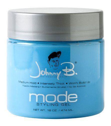 15 00 Johnny B Mode Hair Styling Gel Medium Hold Choose 8oz