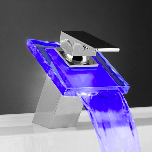 Temperature Sensitive Led Faucet Led Faucet Modern Bathroom Faucets Faucet