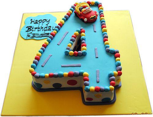Number 4 Cake Template Google Search Birthday Cakes
