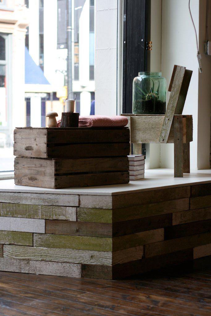 shop front (via oldfaithfulshop) | Pallet furniture ...