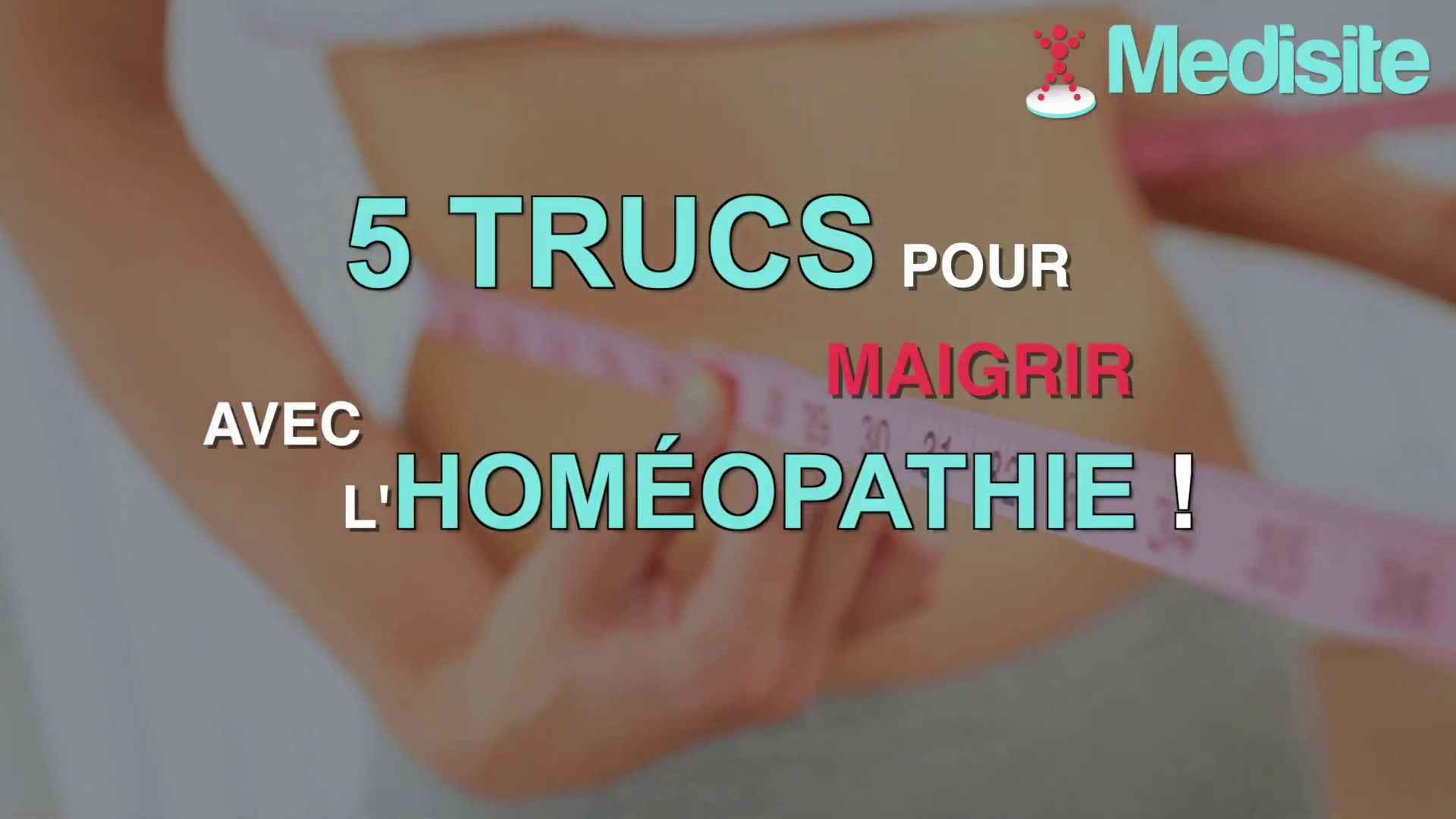 5 trucs pour maigrir avec l'homéopathie   Homeopathie pour