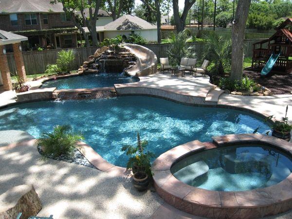 Houston Pool Builder Sugarland Texas Pool Builder