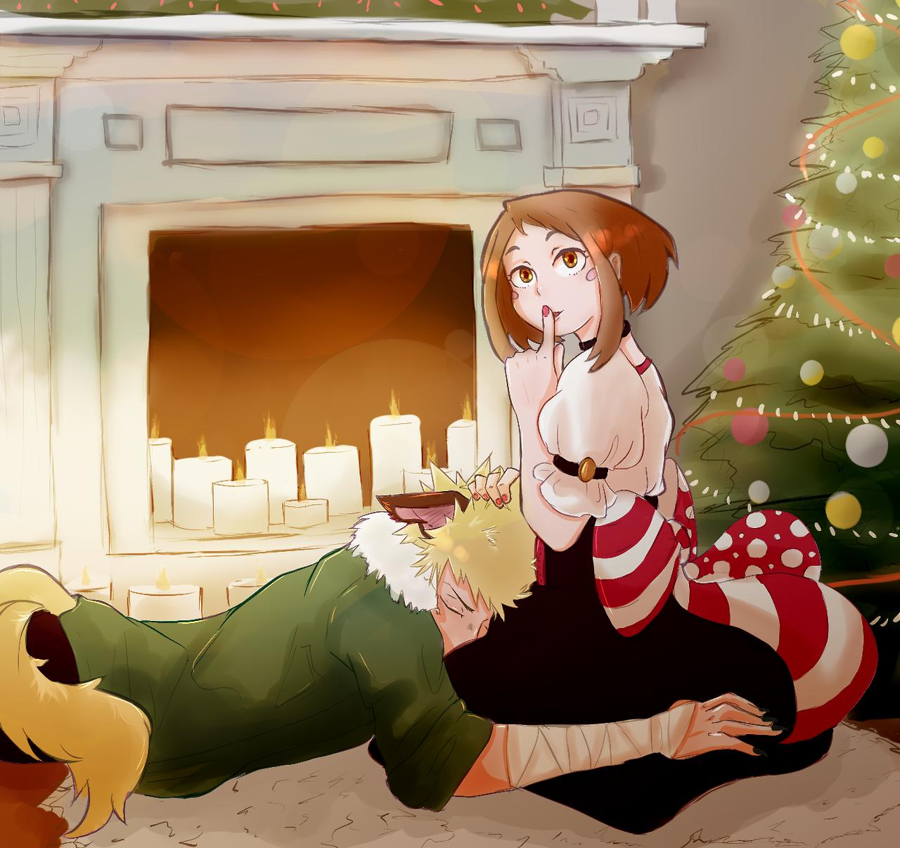 Happy christmas BNHA Anime christmas, My hero academia