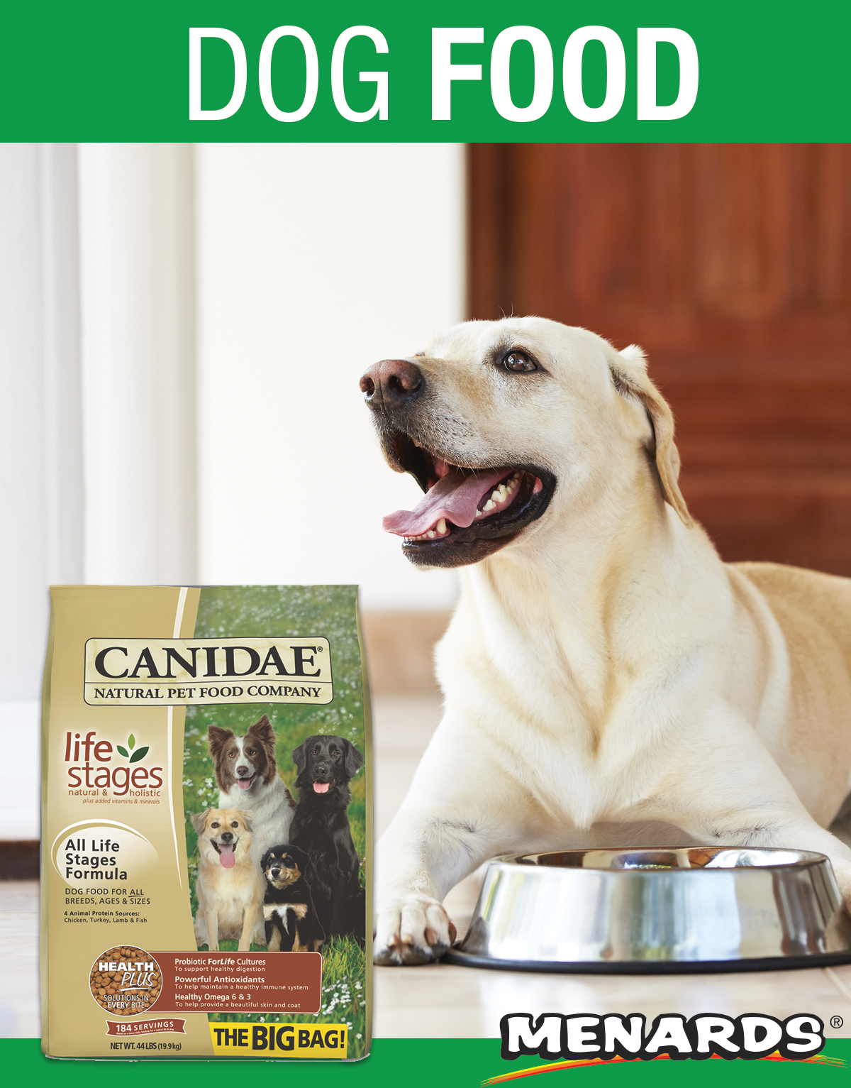 Canidae All Life Stages Chicken Turkey Lamb Fish Dry Dog Food In 2020 Dog Food Recipes Dry Dog Food Natural Pet Food
