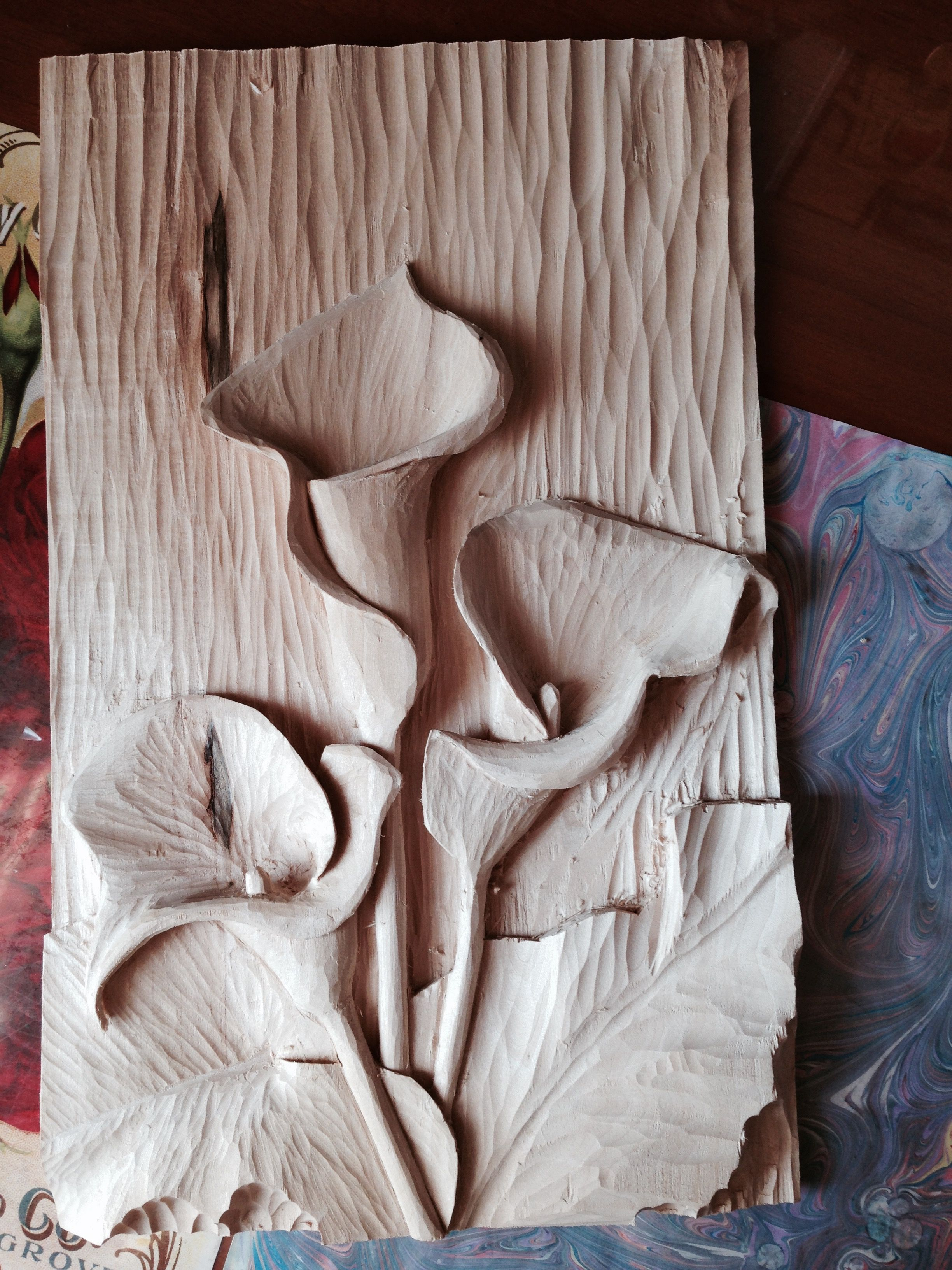 Align the grain for impressive carvings woodcarving illustrated