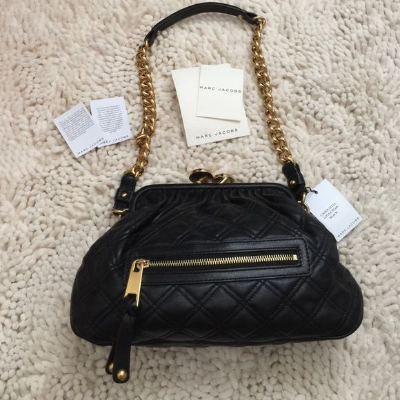 Marc Jacobs Quilted Stam Bag 100 Authentic Brand New Never Used Still Has Tags Attached As Well Authenticity Cards Always Been Stuffed