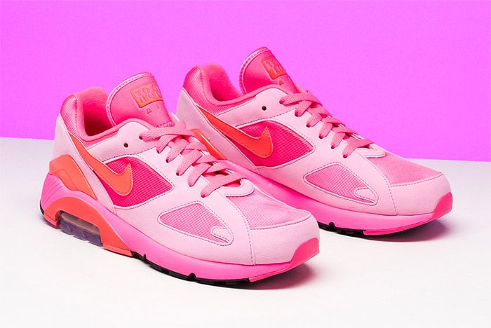 CDG x Nike Take the 180 to Pinksville - Sneaker Freaker