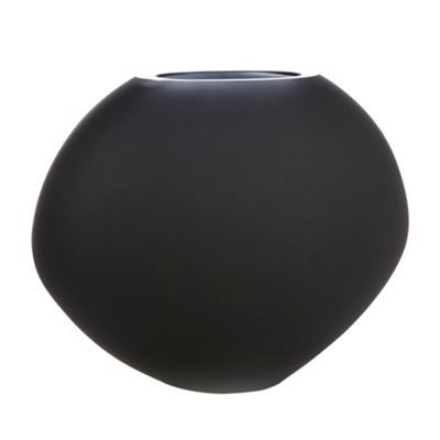 Betty Jackson.Black Graded black oval vase- at Debenhams.com