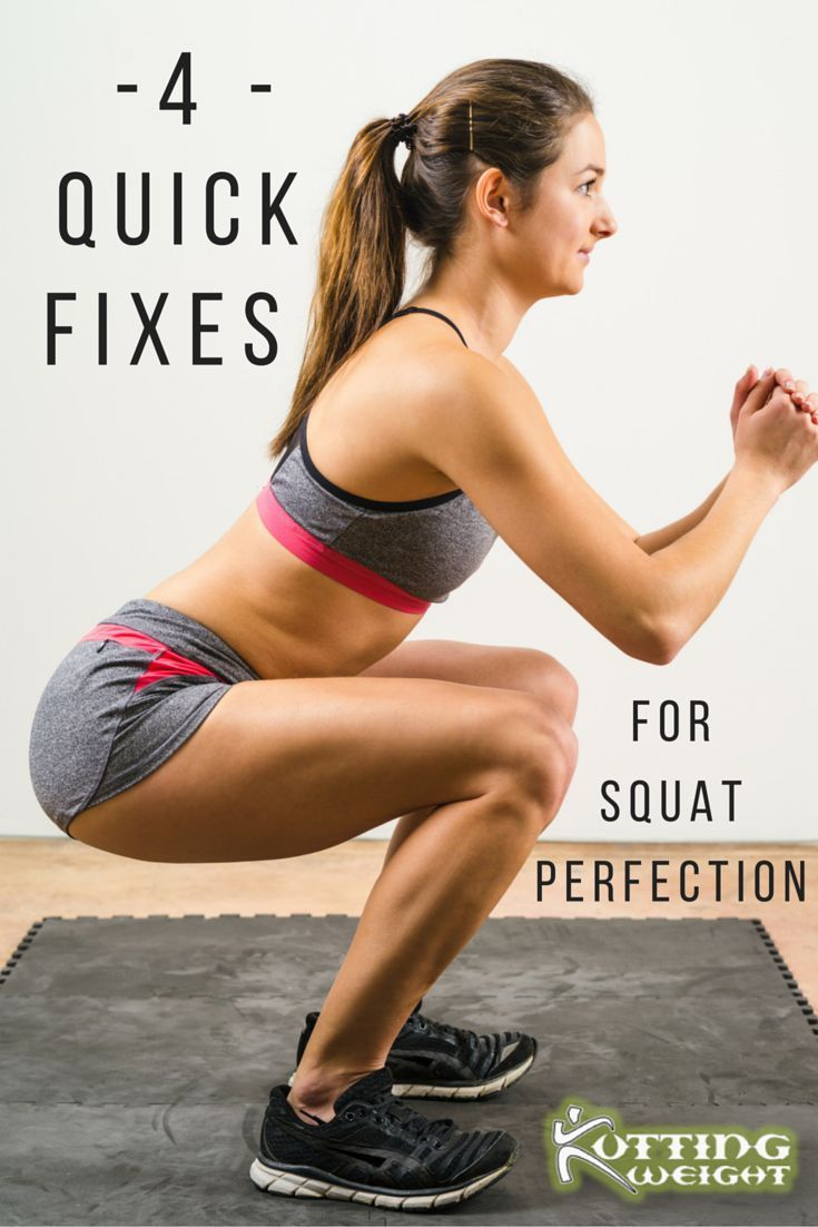 Perfect Your Squat with these 4 Quick Fixes