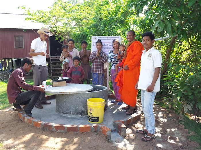 The Mad Monkey Clean Water Project Update 2015 Cambodia, together have helped fund 138 built and working water wells for poor people in Cambodia.