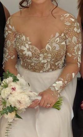 62d433a94c4cc Hayley Paige Remmington  buy this dress for a fraction of the salon price  on PreOwnedWeddingDresses.com