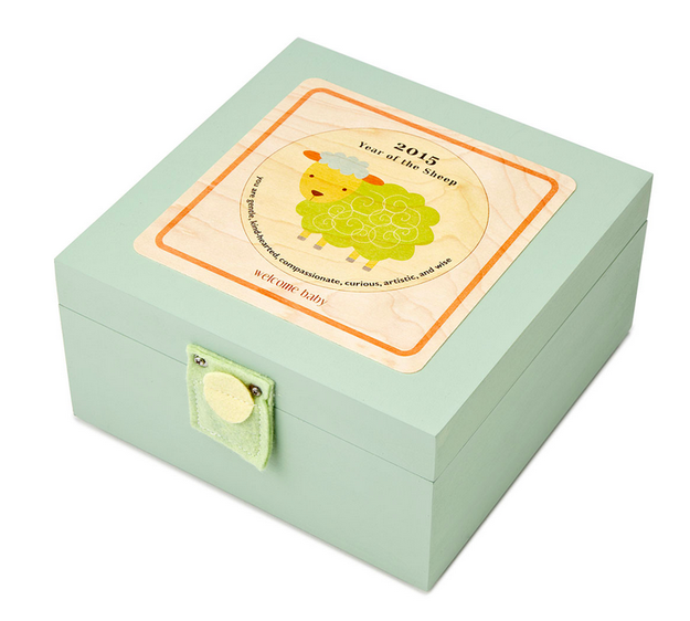 A birth year box. | 25 Meaningful Personalized Gifts Kids Will Cherish Forever
