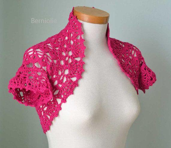 crochet   Crochet Boleros & Shrugs   Pinterest   Super, Muster und ...
