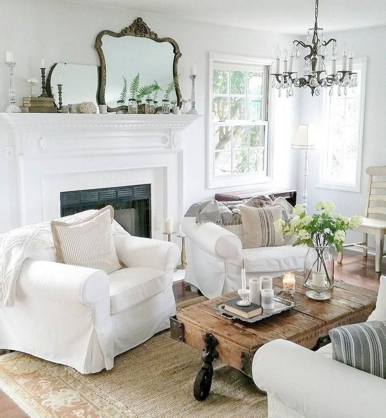 38+ Wonderful French Country Living Room Decor Ideas ...