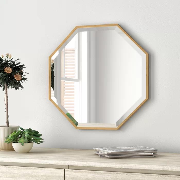 Zipcode Design Morganton Modern Contemporary Beveled Bathroom Vanity Mirror Revi In 2020 Scandinavian Design Living Room Contemporary Wall Mirrors Accent Mirrors