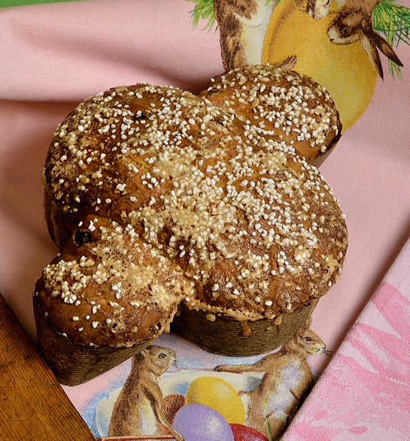 Colomba di Pasqua - Italian Easter Dove Bread