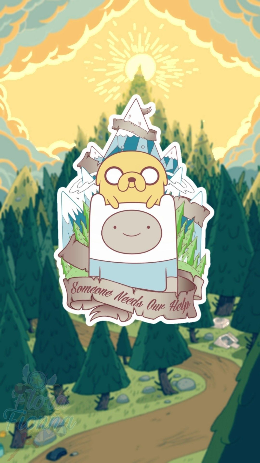 Aesthetic Adventure Time Wallpaper Mobile Adventure Time Wallpaper Adventure Time Iphone Wallpaper Cartoon Wallpaper Iphone