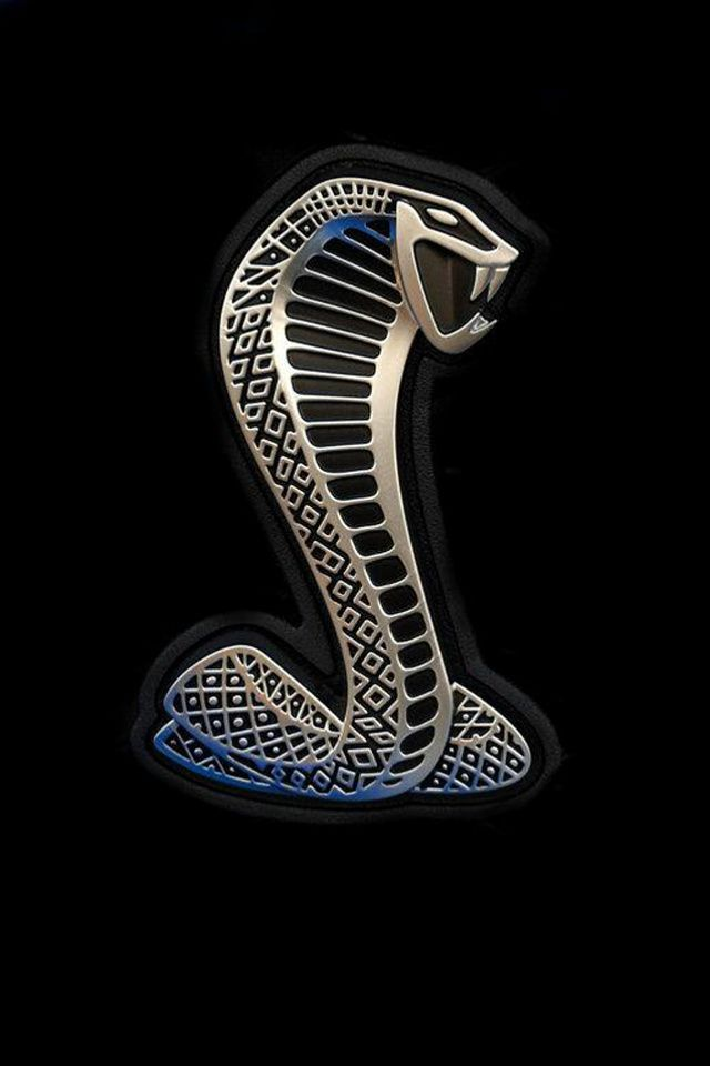 the coolest logo of mucle cars the shelby180s snake