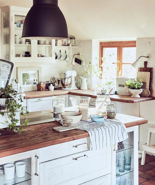 Wizyty W Domach Rodzinny Samodzielnie Zaaranzowany Wiejski Domek Ikea Home Country Farmhouse Rustic Living Room