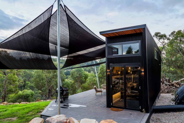 This Ultra Modern Tiny House Will Blow Your Mind Living Big In A Tiny House Modern Tiny House Tiny House Design Tiny House Movement