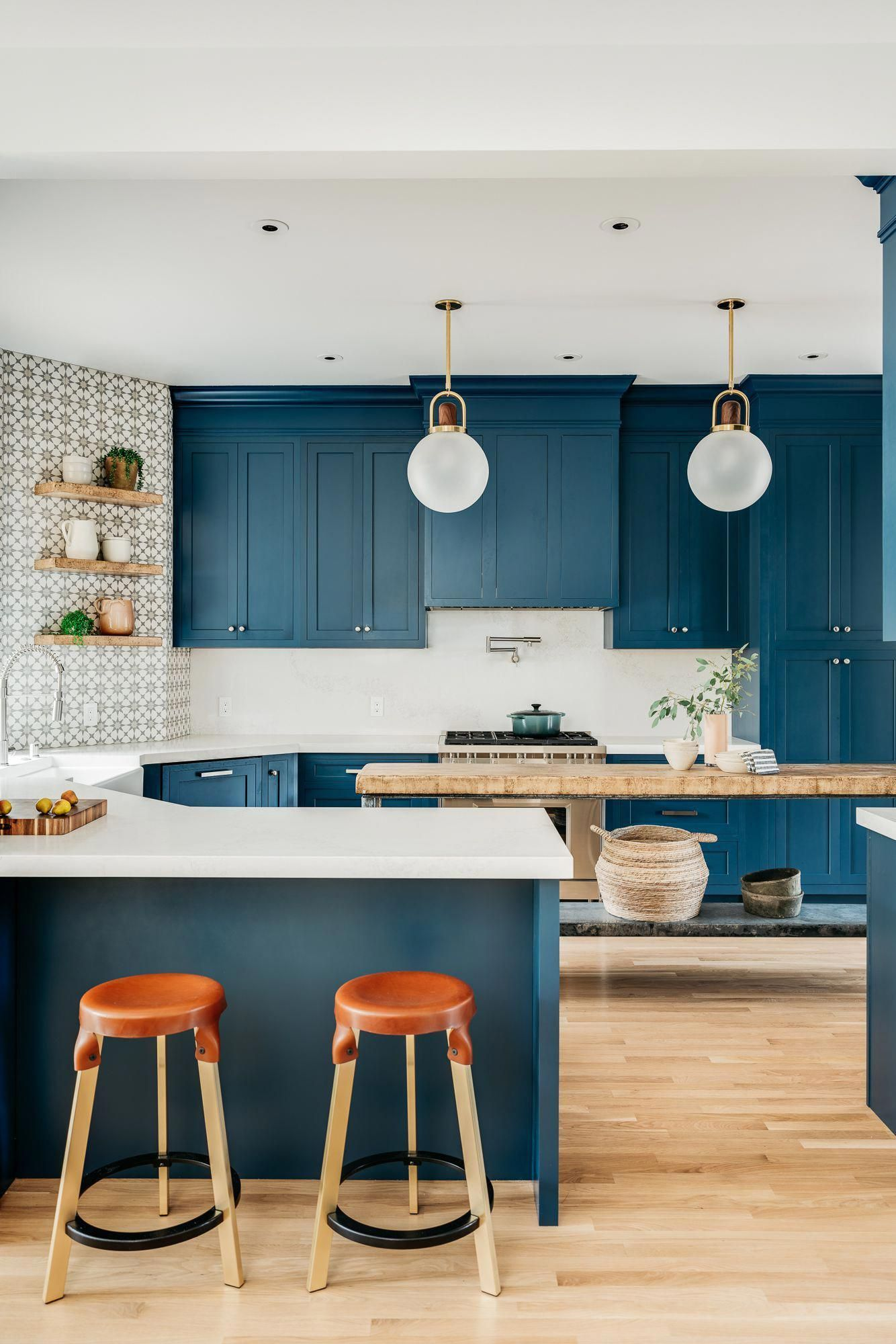These Kitchen Peninsulas Are Gorgeous (and Functional ...