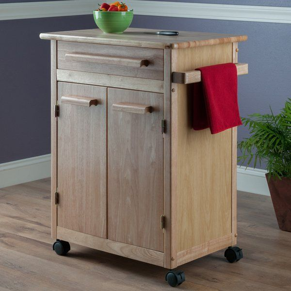 Basics Kitchen Cart with Wooden Top in 2018 Furniture Pinterest