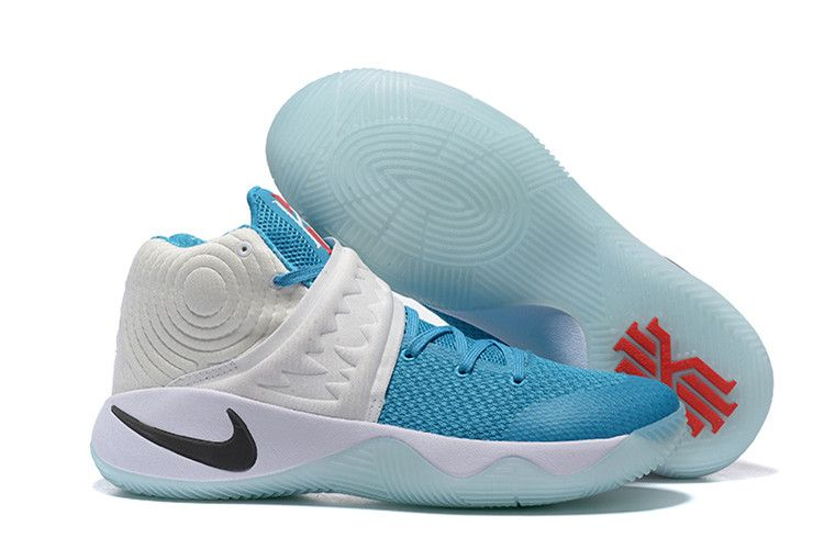 kyrie irving shoes blue and yellow