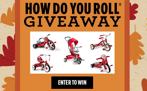 Daily Chance to Win One Radio Flyer Toy! Radio flyer