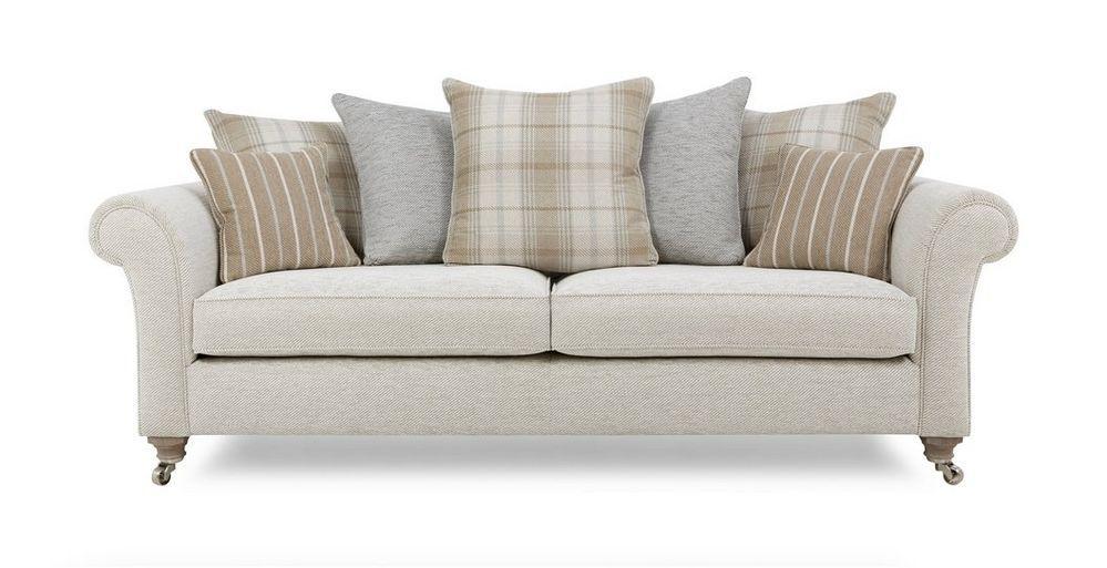 Morland Plain 4 Seater Pillow Back Sofa Dfs