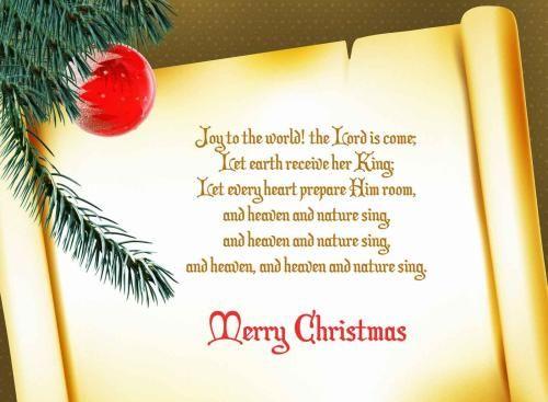 christmas greetings words