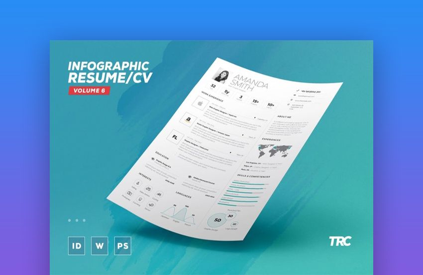 25 top onepage resume templates simple to use format