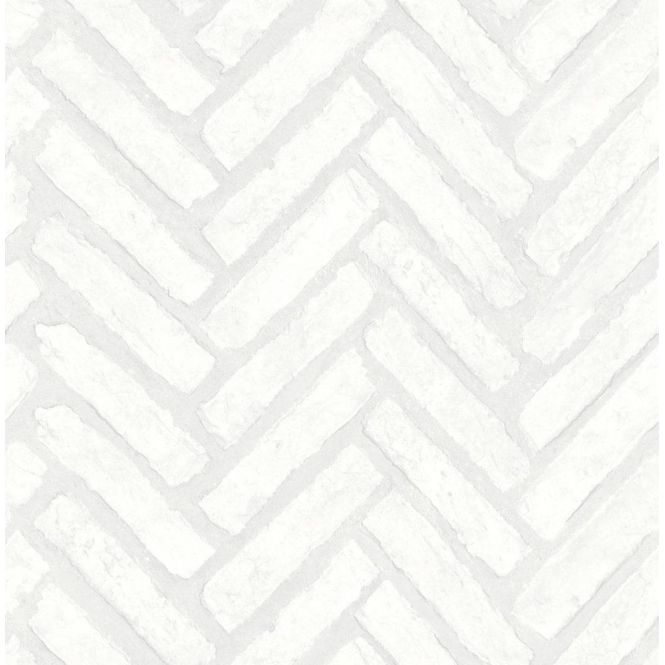 Distinctive Herringbone Brick Wallpaper White Fd40886 Brick Feature Wall White Brick Wallpaper Brick Wallpaper Bedroom