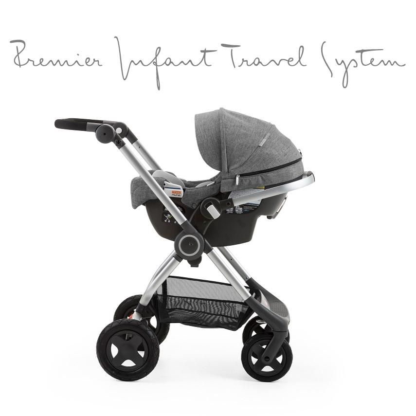 Stokke Scoot Stroller With PIPA By Nuna Car Seat Attachment The Perfect Premier Infant Travel System For A Newborn Baby