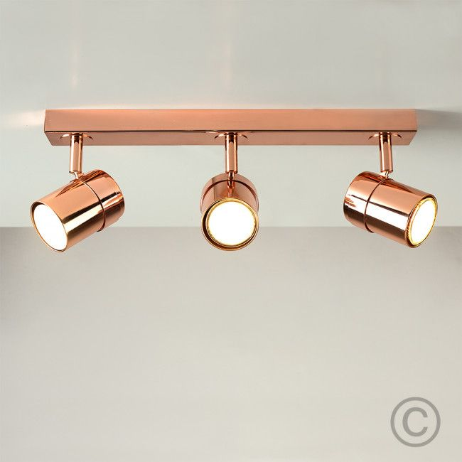 Copper Track Lighting