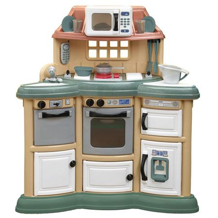 The Wonderful And Stylish Homestyle Play Kitchen Will Allow Kids To Act Just Like Their Mom Dad When They Are Cooking In