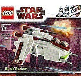 LEGO Star Wars BrickMaster Exclusive Mini Building Set #20010 Republic Attack Gunship [Bagged] $19.99