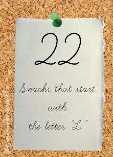 22 Snacks For The Letter L Lettering Preschool Letters Letter V Crafts