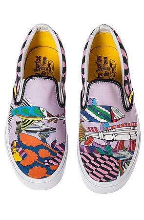 Beatles Sea of Monsters Sneakers $65