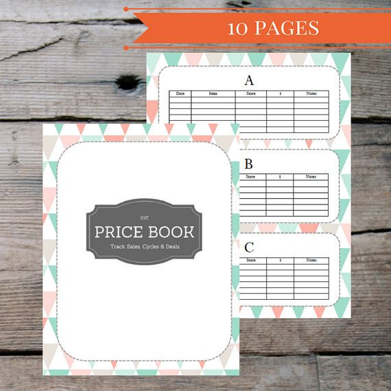 grocery shopping coupon tracker price tracker book meal